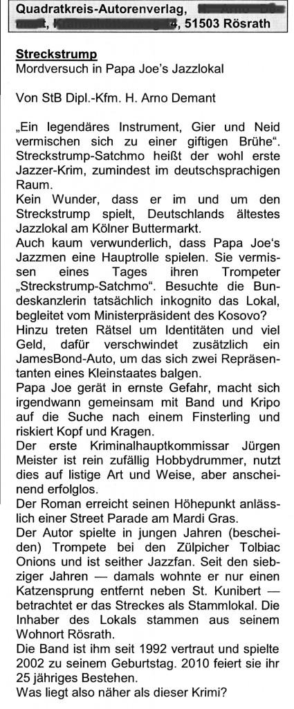 Die Steuerberatung, Organ des StB-Verbandes Köln, T1